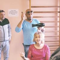 Merci Jean-Louis Santiago d'Aquarelle salon de coiffure Port de bouc